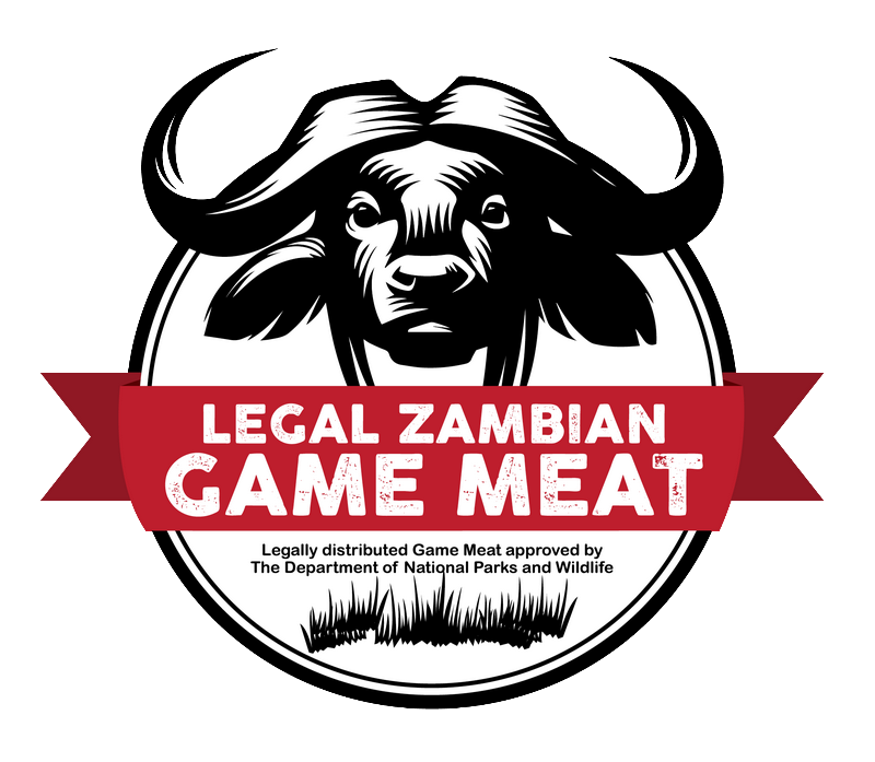 Legally distributed Game Meat approved by the Department of National Parks and Wildlife in Zambia